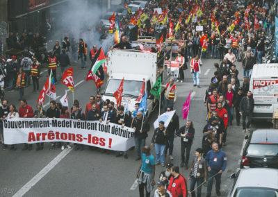 Manifestation 14.04 Marseille (75)