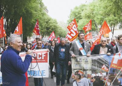 Manifestation 14.04 Marseille (77)