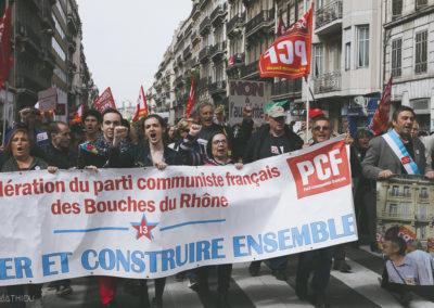 Manifestation 14.04 Marseille (92)